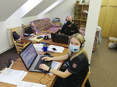 Hasiči se v Libereckém kraji zapojili do trasování