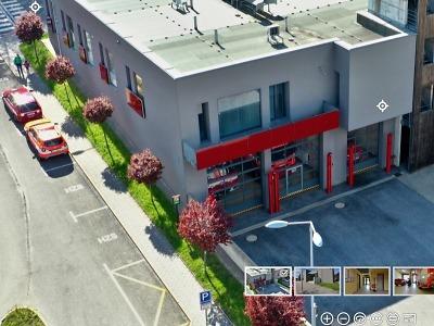 Virtuálně si můžete prohlédnout stanici hasičů v Tanvaldě
