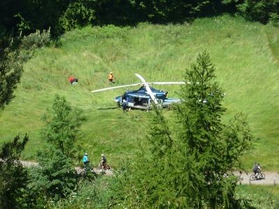 Ztraceného seniora z Turnova objevil vrtulník u Raisovy vyhlídky