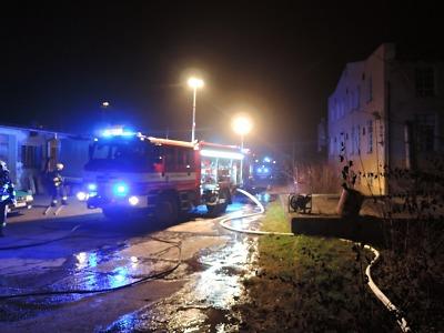 V Semilech hořelo v bývalém areálu firmy TOFA