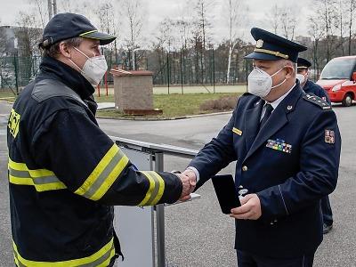 Po 39 letech Lumír Jíra ukončil aktivní službu u HZS Libereckého kraje