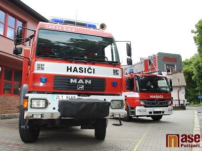 Krajští hasiči zasahovali i na Štědrý den, hořelo v Pasekách i Víchové