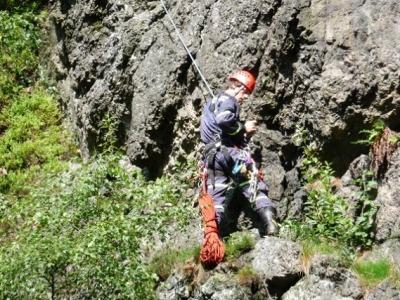Horolezkyně spadla na Suchých skalách, zasahovali semilští lezci
