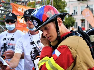 Liberecký hasič Jan Pipiš přivezl z polského Plocku stříbrnou medaili