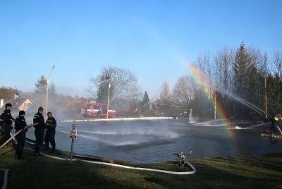 Přípravy na fenomenální hasičskou fontánu jdou do finále