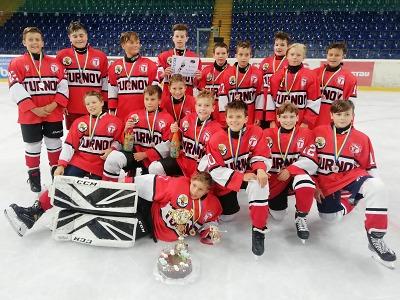 Mladší žáci HC Turnov přivezli z Ústí bronzové medaile!
