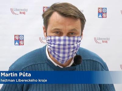 Případů koronaviru je v Libereckém kraji 167, z toho v okrese Semily 30