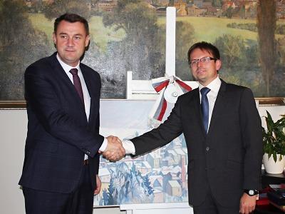 Hejtman Libereckého kraje zavítal do Turnova