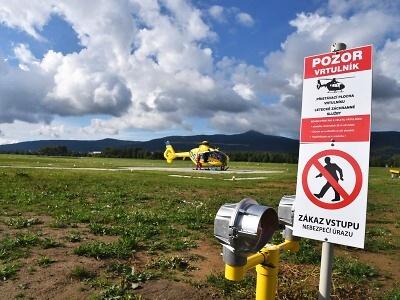 V Liberci otevřeli nový heliport pro leteckou záchranku