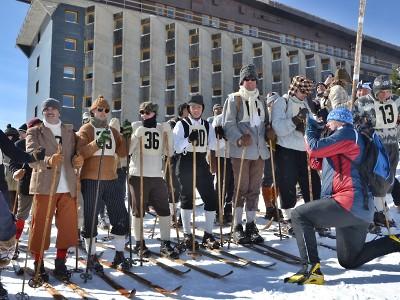 Obrazem: Historický lyžařský závod k uctění památky Hanče a Vrbaty