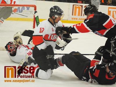 FOTO: Hokejisté Turnova ve finále podlehli Jičínu a slaví stříbro