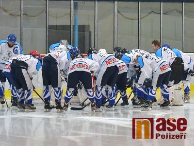 Hokejisté Lomnice zakončili základní část vysokou výhrou ve Varnsdorfu
