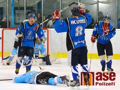 FOTO: Lomničtí hokejisté přidali v kvalifikaci o 2. ligu dvě výhry