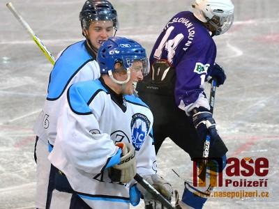 Lomničtí hokejisté udrželi těsnou výhru nad Varnsdorfem