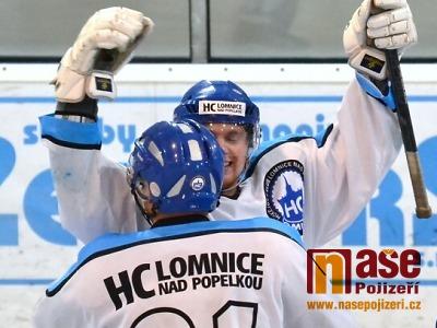 Hokejisté Lomnice urvali smrští ve třetí části vítězství ve Varnsdorfu