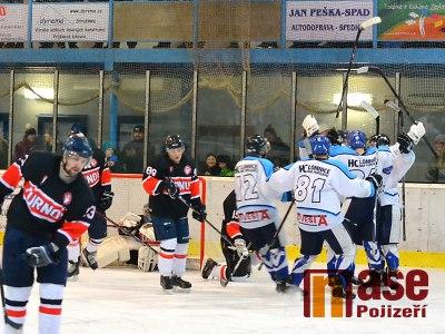 FOTO: Lomničtí doma srovnali. Semifinále play off rozhodne třetí zápas