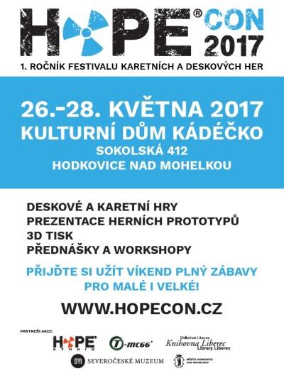 Velký festival her Hopecon chystají v Hodkovicích