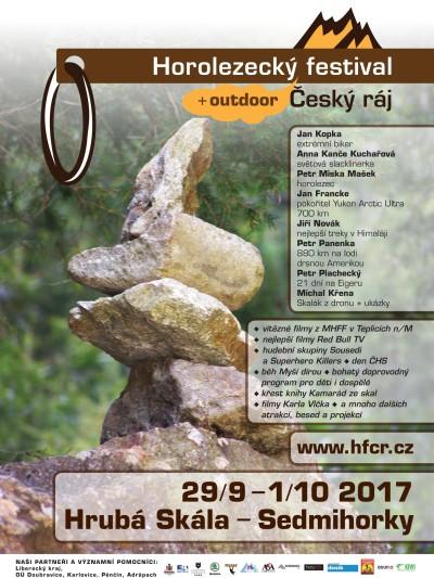 Horolezecký festival se koná opět na Hrubé Skále a v Sedmihorkách