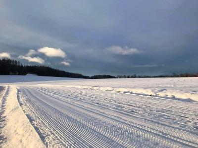 Po sněhové nadílce je upravený okruh na jilemnické Hraběnce