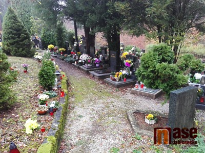 Památka zesnulých byla pod dohledem policie