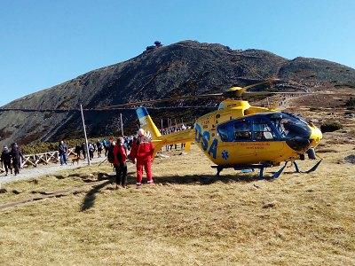 Krkonošská horská služba má za sebou náročný víkend