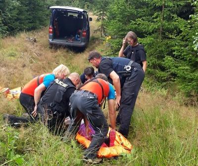 Záchranáři pátrali v Krkonoších po ztracené seniorce