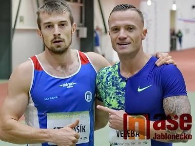 Obrazem: Skvělé sprinty na Jablonecké hale 2020