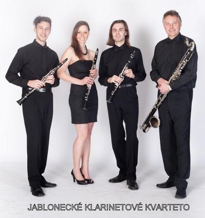 Jablonecké klarinetové kvarteto vystoupí v kostele Povýšení sv. Kříže