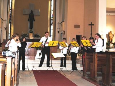 Cyklus Jablonecké kostely otevřeny završí koncert Dechové harmonie
