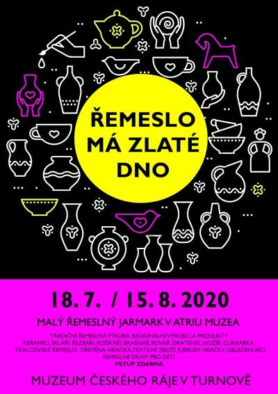 Malý řemeslný jarmark pořádají v atriu Muzea Českého ráje v Turnově