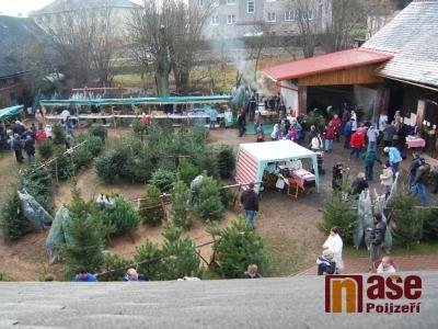 Libštátský vánoční jarmark se koná popatnácté ve dvoře U Janatů