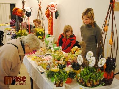 FOTO: Velikonoční jarmark lákal k návštěvě muzea