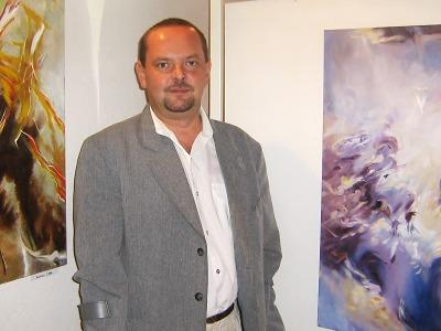 Slomnickým výtvarníkem Jaroslavem Dlouhým se rozloučí výstavou