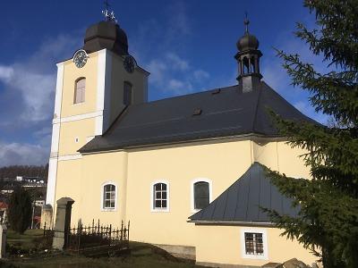 Příběh obnovy: kraj pomáhá kostelu sv. Anny v Jeřmanicích