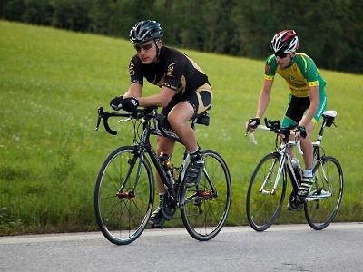 Třetího závodu Jičínské cykloligy se účastnilo 43 jezdců