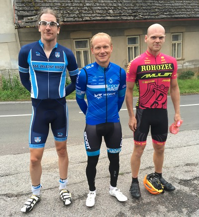 Čtvrtý závod Jičínské cykloligy vyhrál Ondřej Švanda