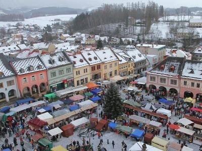 Jilemnické náměstí opět zaplní vánoční jarmark