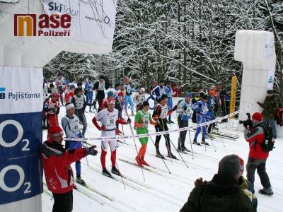 Na Jilemnické padesátce startovalo rekordních 800 lyžařů