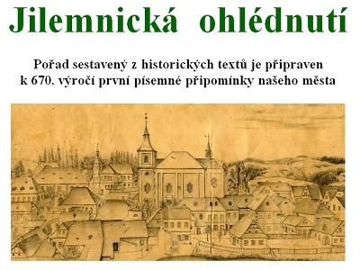 Pořad Jilemnická ohlédnutí připomene 670. výročí města