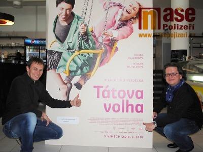 Režisér Jiří Vejdělek v Semilech osobně uvedl film Tátova volha