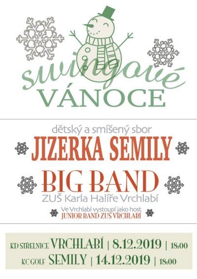 Jizerka připravila vánoční koncert se swingovými koledami