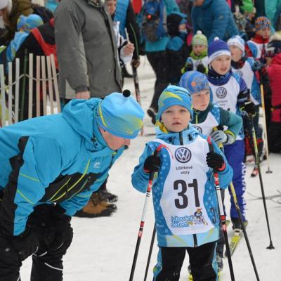 V josefodolském areálu běhaly tři stovky lyžařů