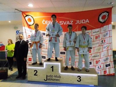 Semilští judisté zápasili v Jablonci, třetí místo obsadil Lukáš Brandýs