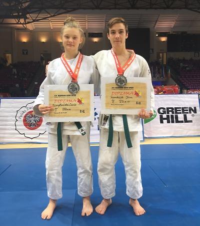 Jan Turchich a Lucie Zárybnická mají stříbro z Varšava open
