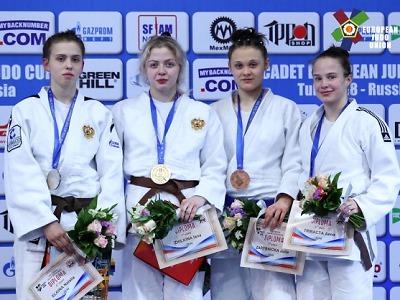 Julie Zárybnická bronzová na EOC vRusku