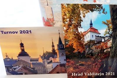 Turnovské infocentrum opět nabízí kapesní kalendáříky