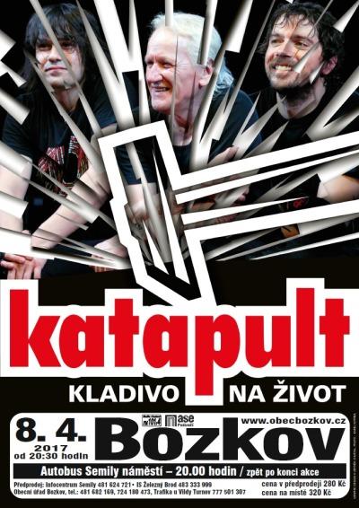 Katapult přijede do bozkovské sokolovny s Kladivem na život
