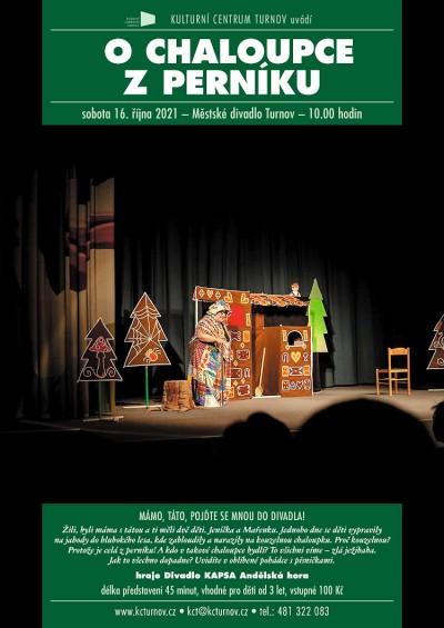 O chaloupce z perníku v turnovském divadle