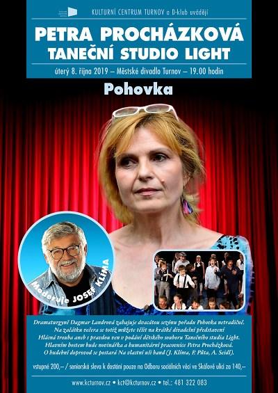 Na Pohovku zavítá novinářka Petra Procházková i Taneční studio Light