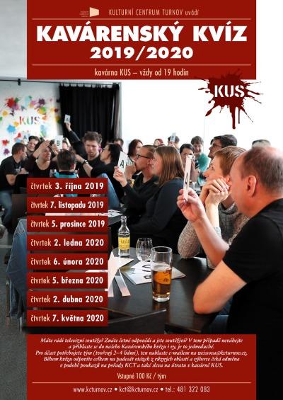 Kavárenský kvíz pokračuje v turnovské kavárně Kus 7. listopadu